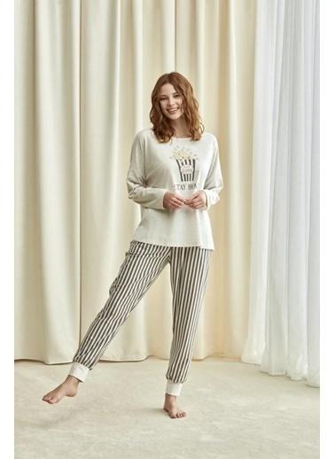 Catherines Pijama Takım Bej